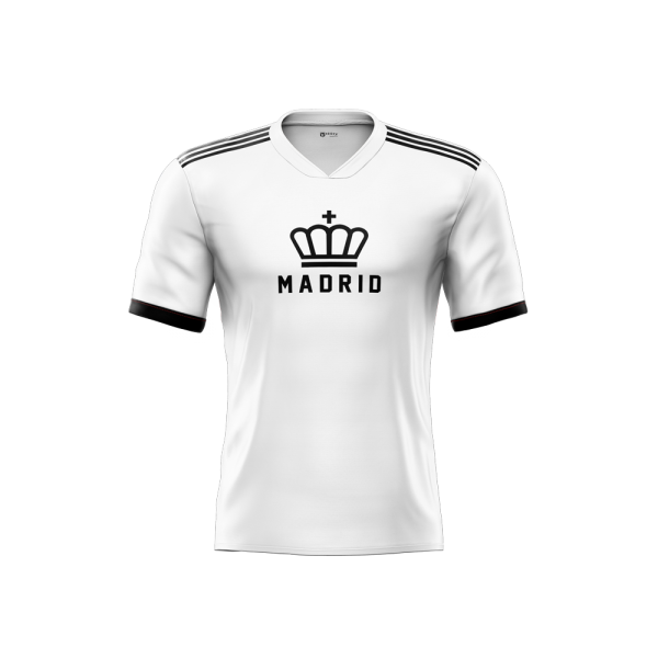real madrid 2021 home concept jersey front part