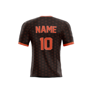 manchester united concept jersey back part